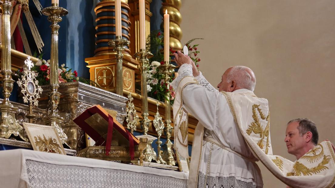 40 años de sacerdocio del RP Edgardo Albamonte